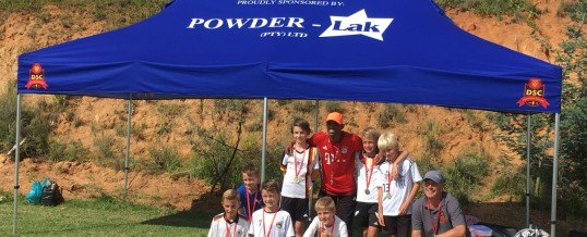 Proudly sponsoring the under 8's soccer team from the Deutsche Internationale Schule, Parktown.